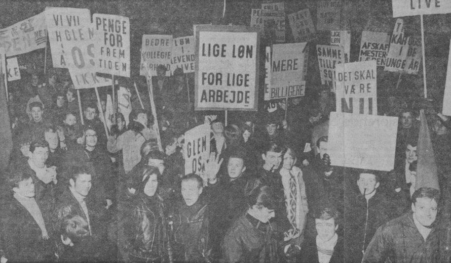 Lærlingedemonstration 1966